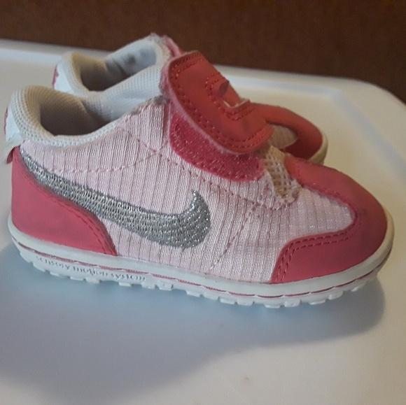 Nike Shoes Pink Baby Girls Size 4c Poshmark